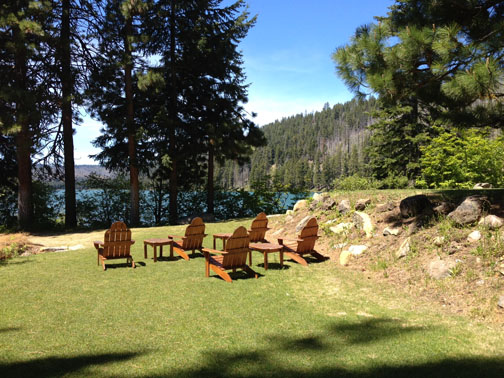 SO Chairs at Suttle Lake