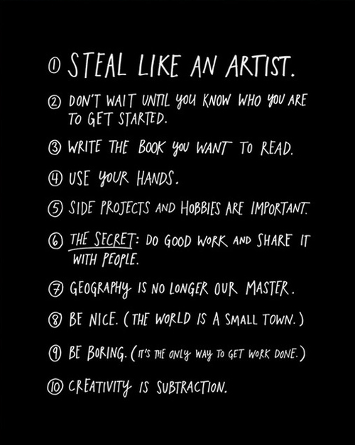 Do good work, austin kleon