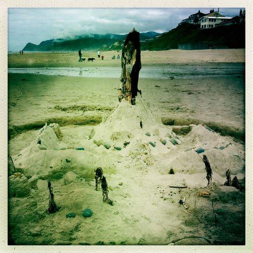 Beach Totem 2