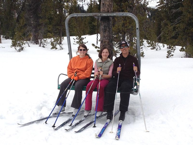 SO Ski Chair Happy
