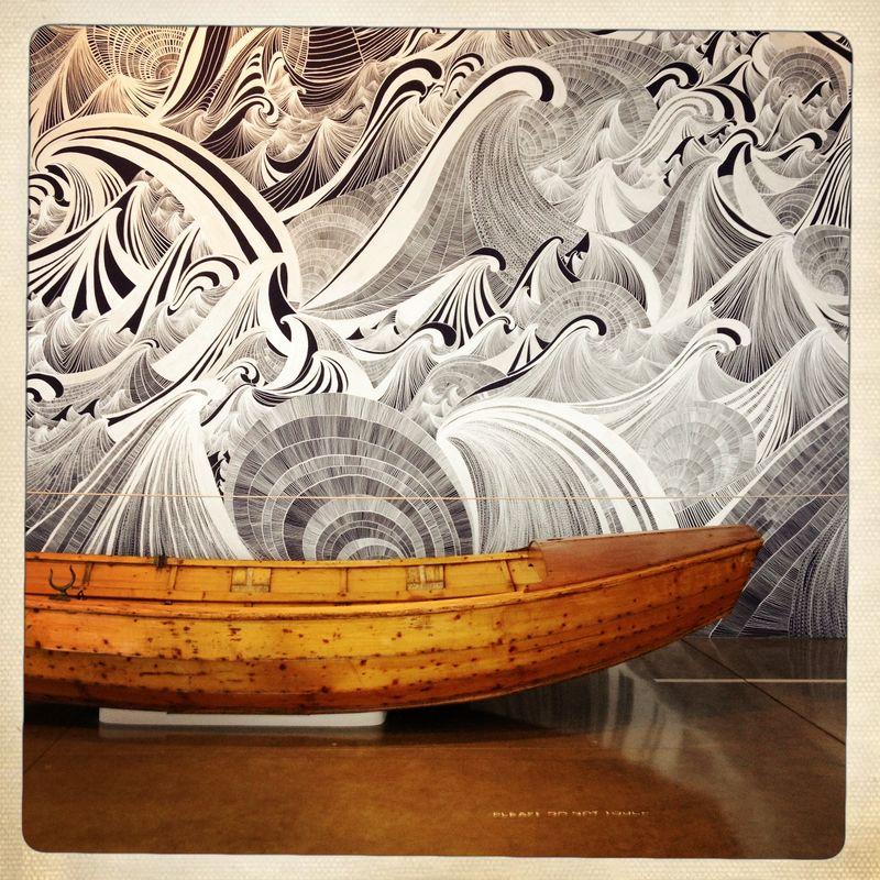 Boat Waves Art 3