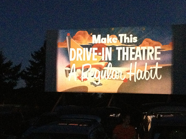 SO 10 Drive In Big Screen