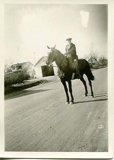 SO Guy on Horse