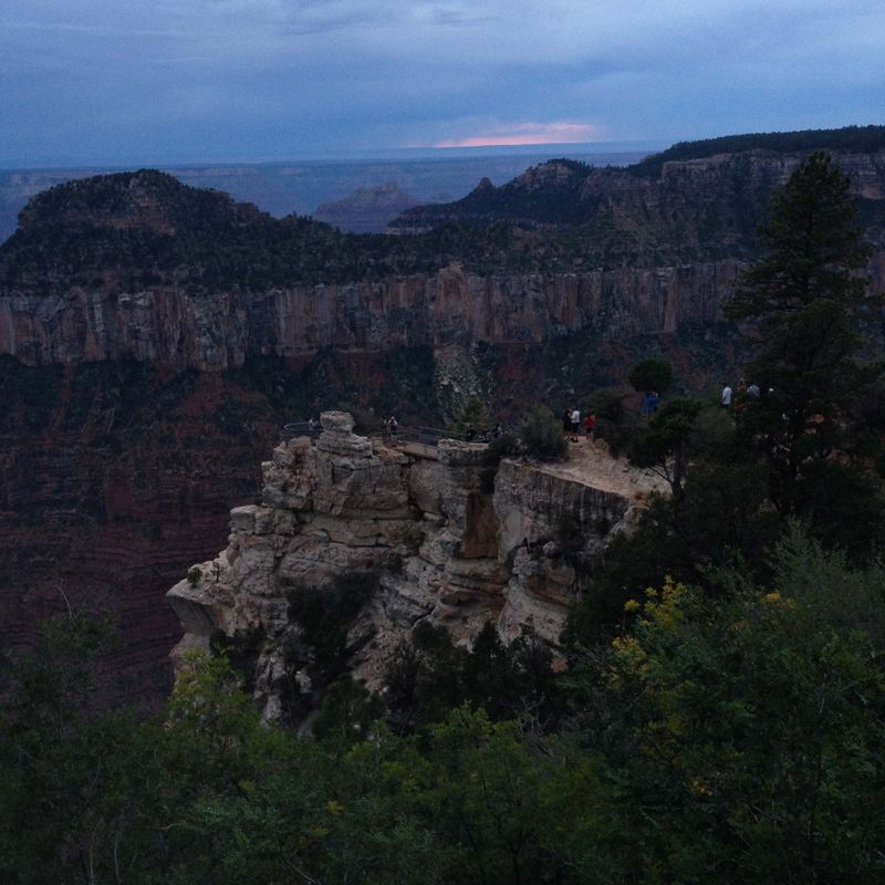 SO15 North Rim Dusk