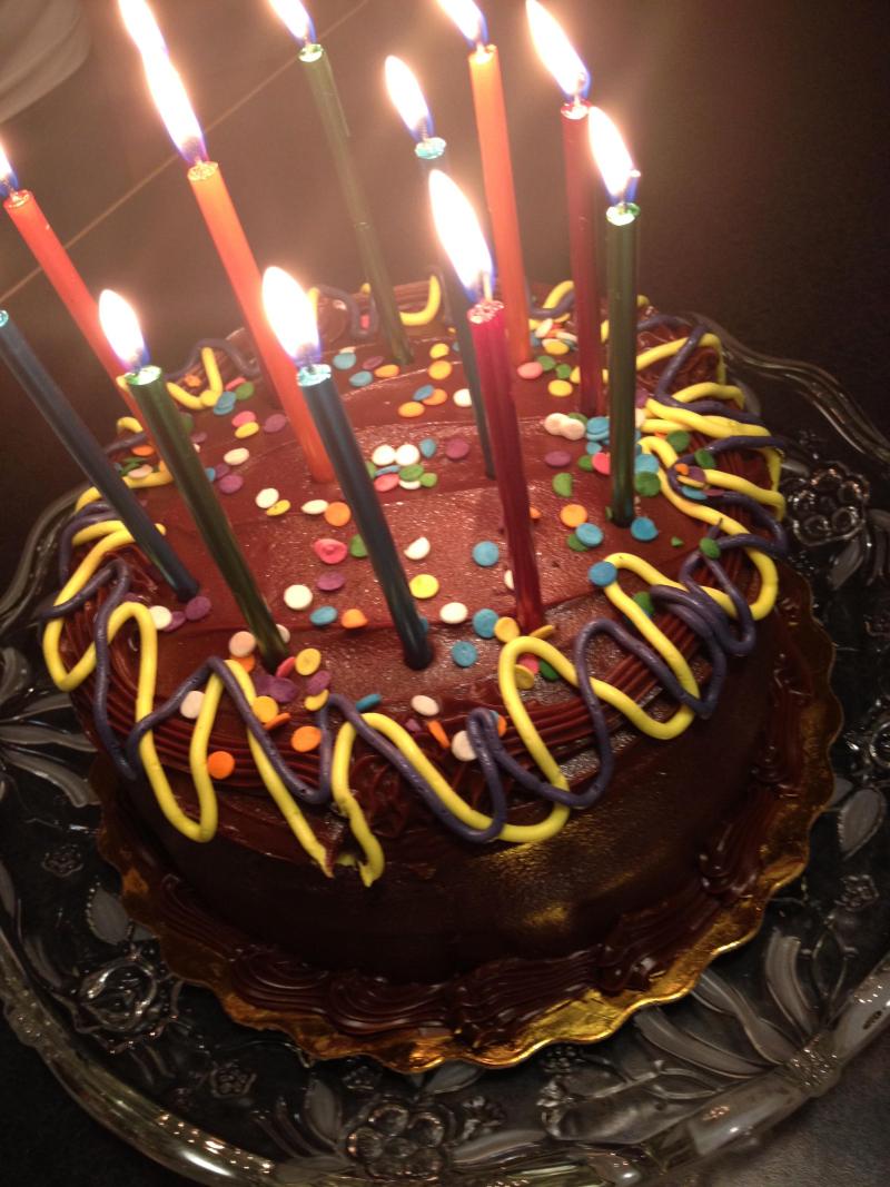 SO BDay Cake
