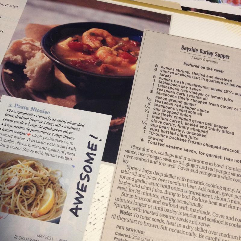 SO Recipe Page